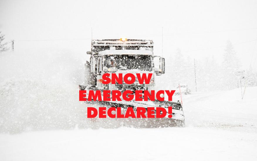 Snow emergency declared beginning 6 p.m. Sunday, March 12