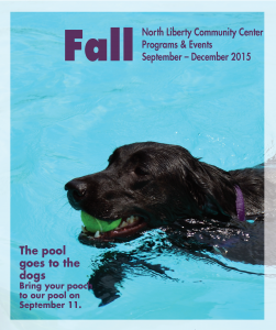 cover Community Center brochure Fall 2015