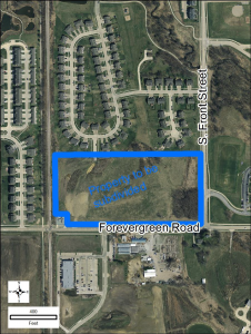 Notice of Good Neighbor Meeting Hodge 12-2015 map