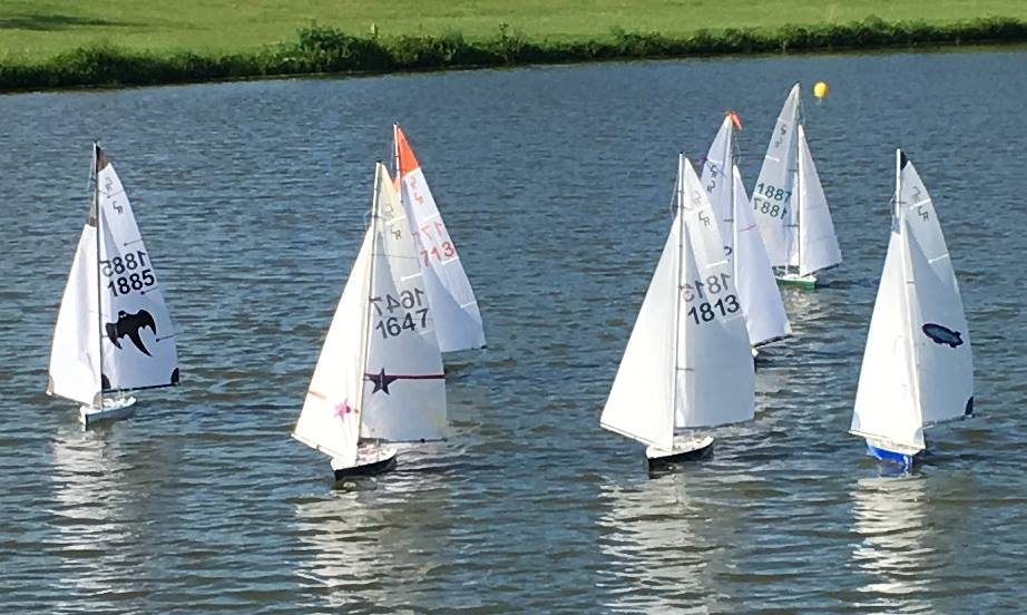 Model Sailboat Races Begin June 10 at Liberty Centre Pond