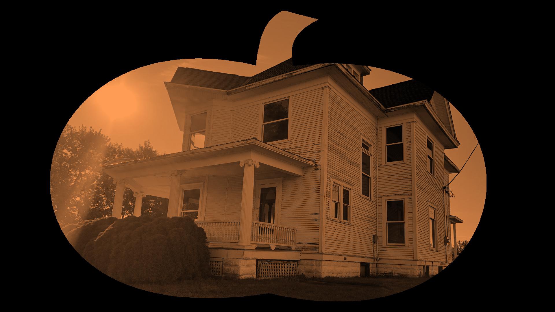 Ranshaw House and Pumpkin