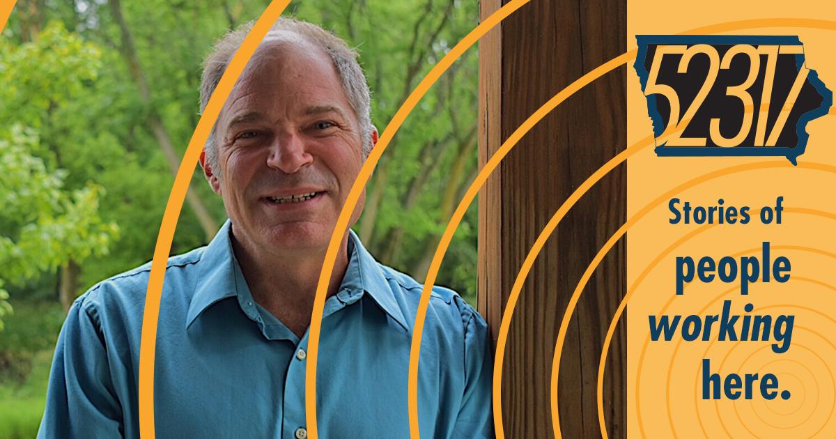 A photograph of author/publisher Steve Semken