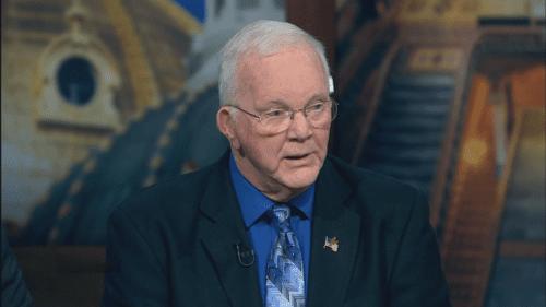 North Liberty Mayor Terry Donahue appears on Iowa PBS.