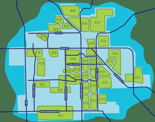 Great Neighborhood Map