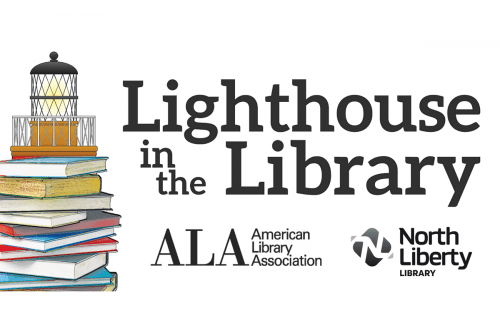 Lighthouse in the Library Logo